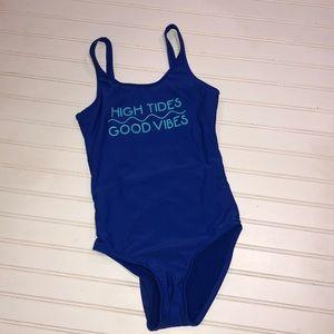 Hobie girls NWT one piece bathing suit